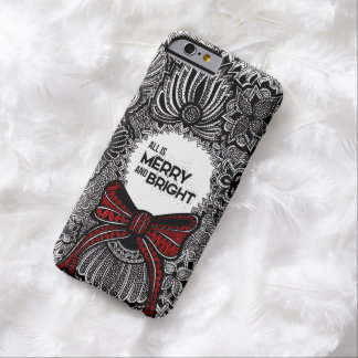 Wreath with Text Barely There iPhone 6 Case