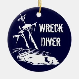 Wreck Diver Ornament