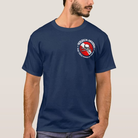 Wreck Diving (Skull) Apparel T-Shirt