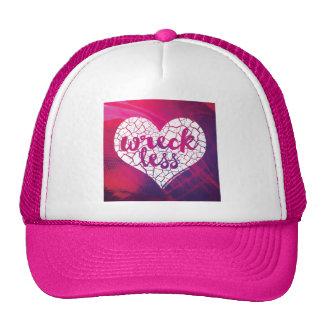 """""""Wreck Less Heart"""" Trucker Hat"""