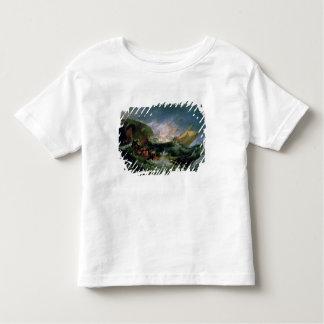 Wreck of a Transport Ship Toddler T-Shirt