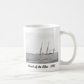 Wreck of the Alba, 1892 Basic White Mug