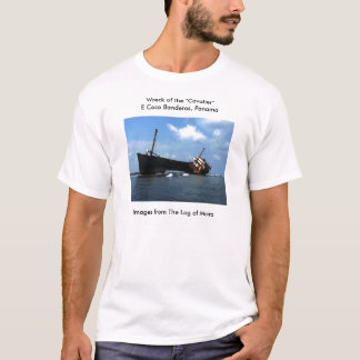 "Wreck of the ""Cavalier"" E Coco Banderos, Panama T-Shirt"