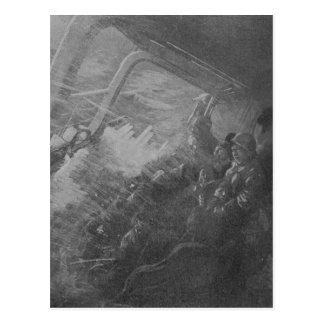 Wreck & Sinking of the Titanic 1912 Postcard