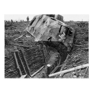 Wrecked Panzer Postcards