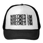 Wrecked 'Um Tri-Logo Baseball Cap Mesh Hats