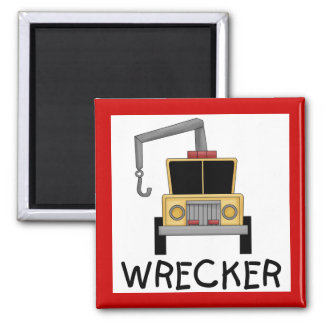 Wrecker Tshirts and Gifts Refrigerator Magnets