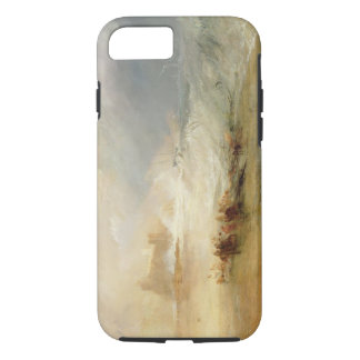 Wreckers - Coast of Northumberland, With a Steam B iPhone 7 Case