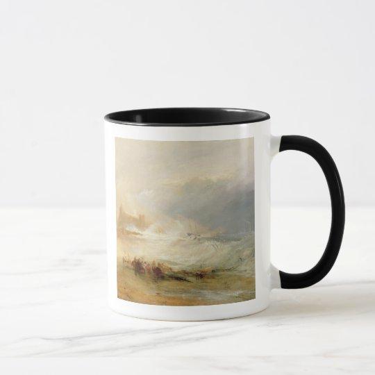 Wreckers - Coast of Northumberland, With a Steam B Mug