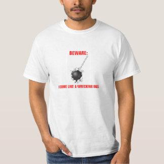 Wrecking Ball shirt