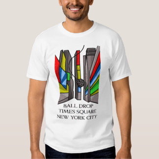 Wrecking Ball Times Square New York Shirts
