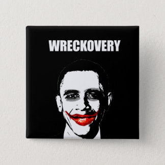 WRECKOVERY 15 CM SQUARE BADGE