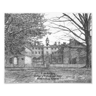 Wren Building Photograph