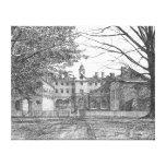 Wren Building, Williamsburg, Virginia Gallery Wrap Canvas
