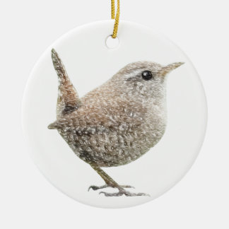 Wren Christmas Ornament
