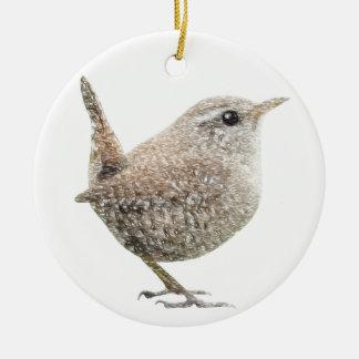 Wren Christmas Ornament