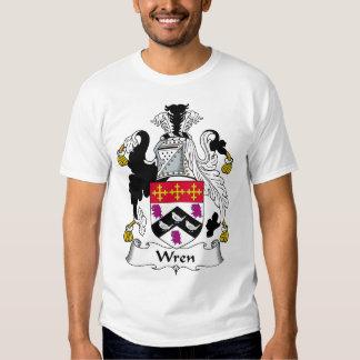 Wren Family Crest Tshirts