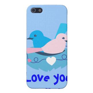 wren love birds nesting iPhone 5/5S case