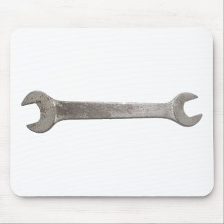 Wrench spanner transparent PNG Mouse Mat