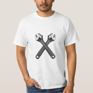 Wrenched - Mechanic's Shirt - Tools and Equipment