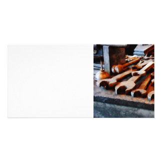 Wrenches Photo Greeting Card