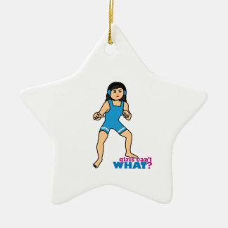 Wrestler - Medium Christmas Ornament