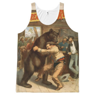 wrestling All-Over print tank top
