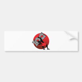 wrestling bumper stickers
