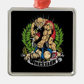 Wrestling Champ Christmas Tree Ornaments