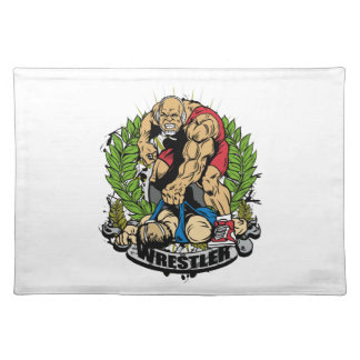 Wrestling Champ Placemats