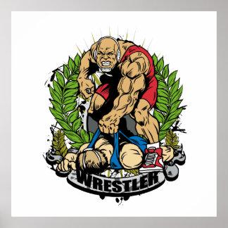Wrestling Champ Poster