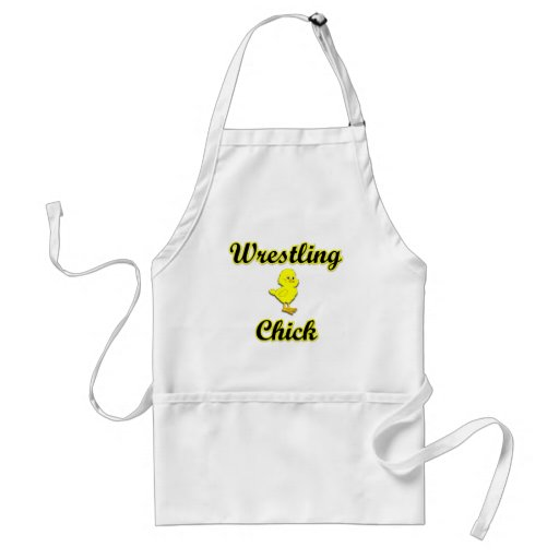 Wrestling Chick Apron