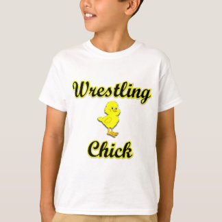 Wrestling Chick T-Shirt