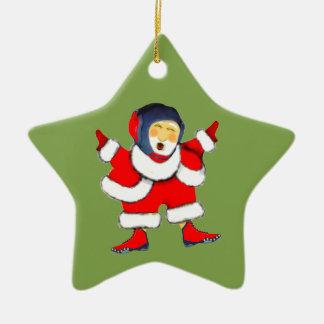 wrestling Christmas Christmas Ornament