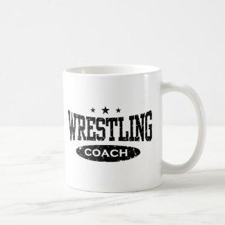 Wrestling Coach Coffee Mug