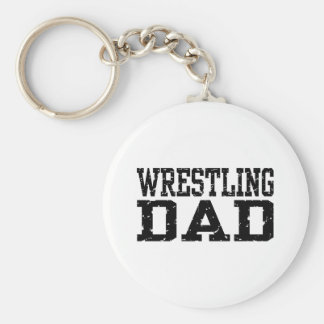 Wrestling Dad Key Ring
