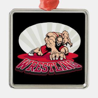 Wrestling! Ornament