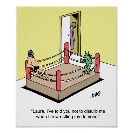 wrestling demons quotes