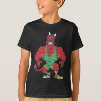 Wrestling Devil T-Shirt