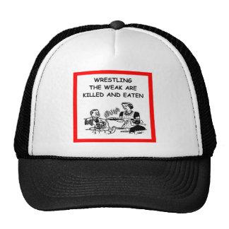 WRESTLING MESH HAT