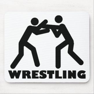 wrestling icon mousepad