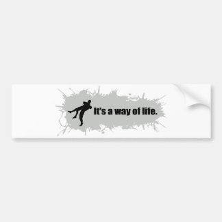Wrestling is a Way of Life Bumper Sticker