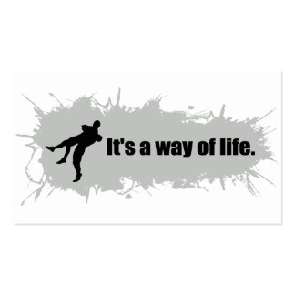 Wrestling is a Way of Life Pack Of Standard Business Cards