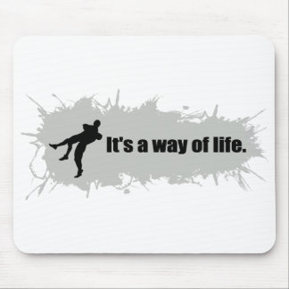 Wrestling is a Way of Life Mouse Pad