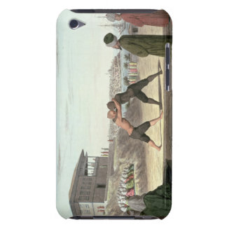 Wrestling Match, Constantinople (w/c on paper) iPod Touch Cover