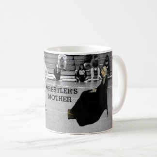 wrestling mom coffee mug