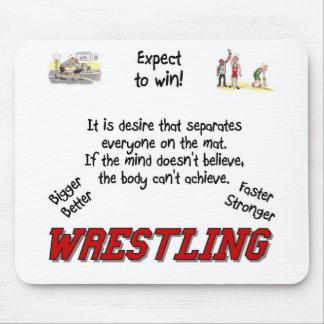Wrestling Mouse Mat