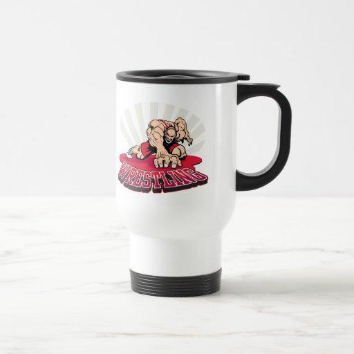 Wrestling! Mug