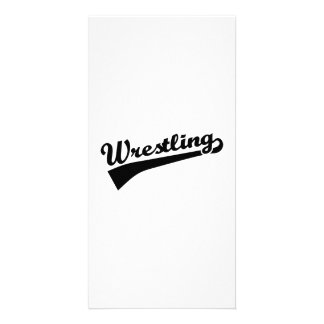 Wrestling Photo Card Template