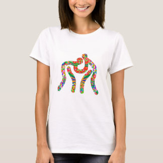 Wrestling  Style: Women's Basic T-Shirt This basic